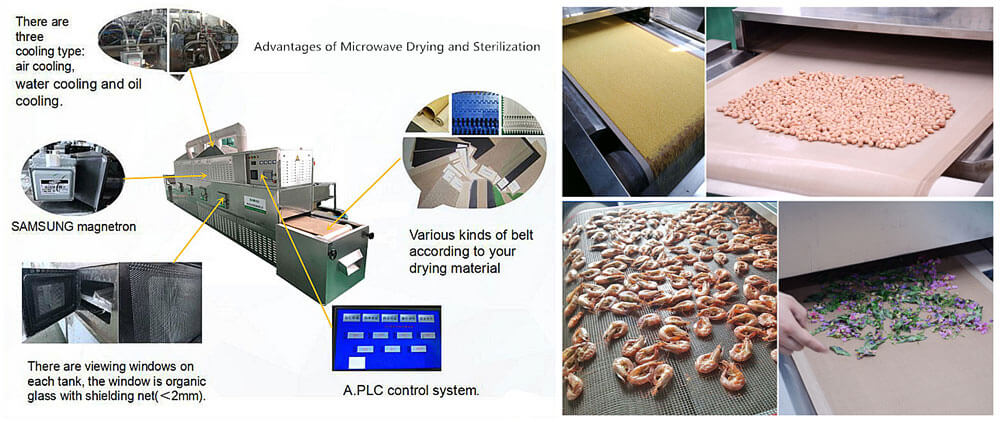 Advantages of Microwave Drying Equipment