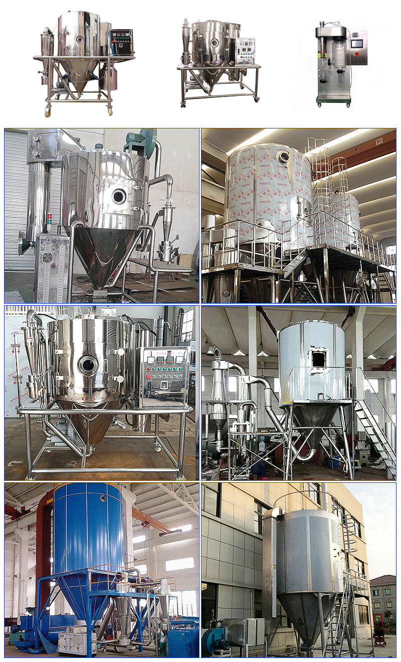 Fruit Powder Spray Drying Machine Introduction