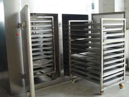 coconut chips drying machine