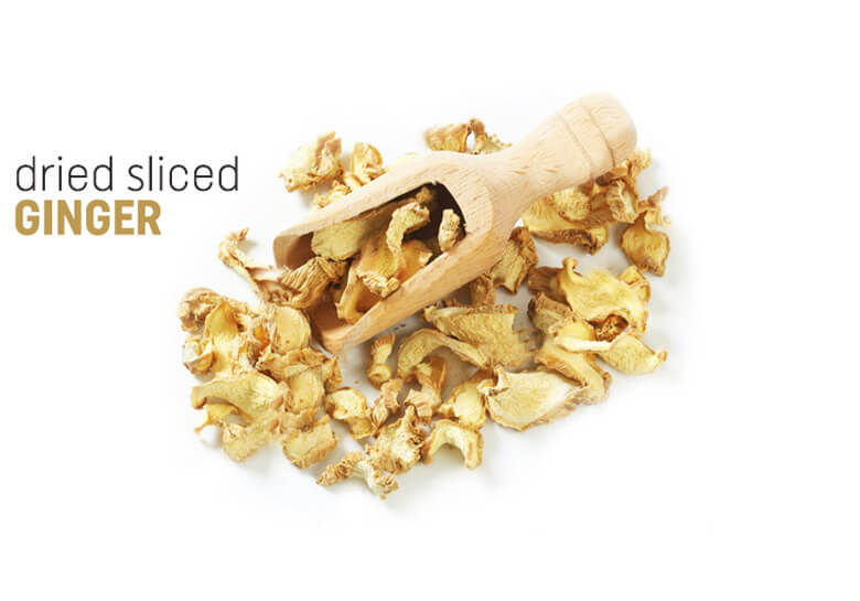 dried sliced ginger