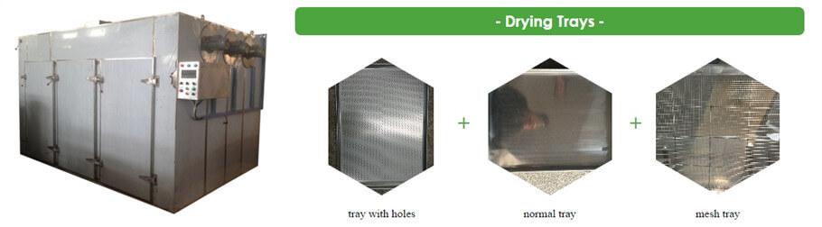 hot air circulation vegetable drying machine