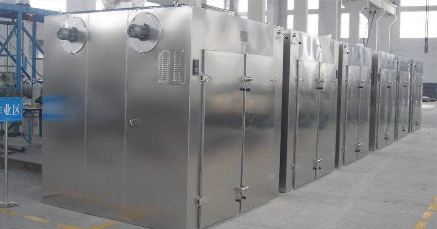 hot air circulation apple drying machine