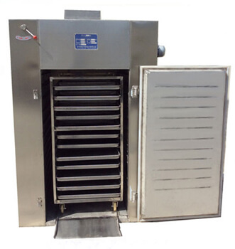 hot air dryer for drying seafood