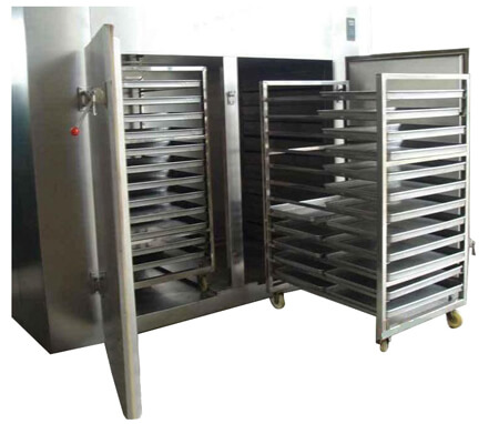 hot air dryer machine for drying sliced bananas
